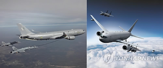 In 2015, the A330 MRTT was selected and four orders of the planes were registered. (Image: Yonhap)