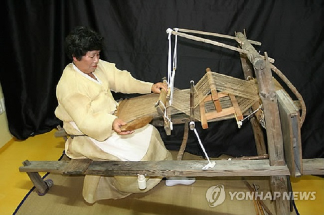 Andong has many places that openly cultivate hemp because it is used as a material to make Andongpo, the highest-grade hemp cloth. (Image: Yonhap)