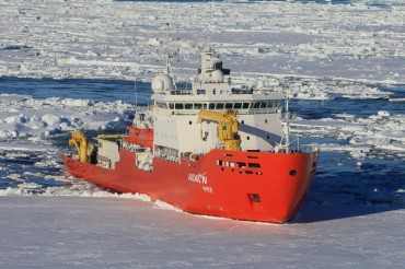 S. Korea's Icebreaker Embarks on 227-day Antarctic Mission