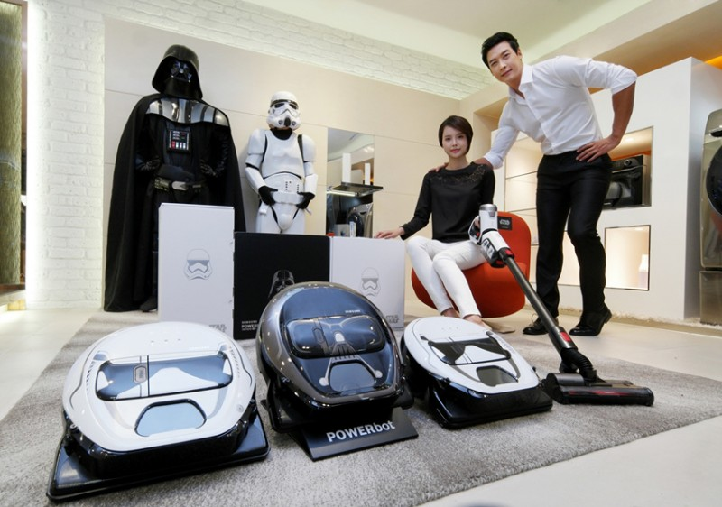 Samsung Teams Up with Lucasfilm for Star Wars-themed Vacuum Cleaners