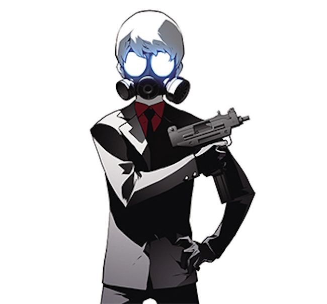 For example, the eponymous hero of 'Terror Man', the tale of Min Jung-woo, a young man who tries to save people from trouble by donning the mask of a terrorist (Min's superpowers enable him to perceive others' hidden sorrows), makes an appearance in the Naver Webtoon series 'Distant Sky'. (Image: YLAB Comics)