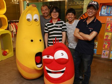 "Korean Animation Series ""Larva"" to Appear on Disney's Latin American Broadcasts"