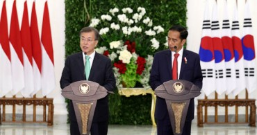 Leaders of S. Korea, Indonesia Agree to Upgrade Ties, Urge N. Korea to Give up Nukes