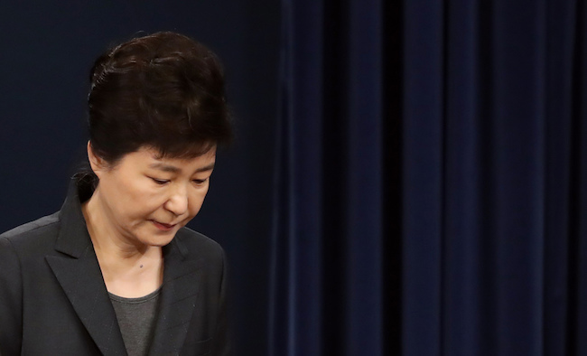 Prosecution Says ex-President Park Privately Used NIS Funds