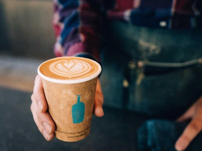 The passion for the brand is well documented; one out of two customers at the Blue Bottle Coffee location in Shinjuku is South Korean. (Image: Blue Bottle Coffee Co Blog)