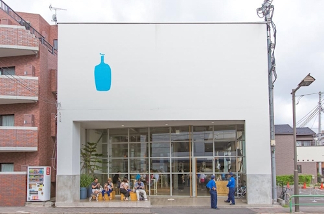 "The South Korean community of coffee devotees is abuzz after recent remarks made by CEO James Freeman of Blue Bottle Coffee Company, who alluded to the possibility that the so-called ""Apple of the coffee industry"" would soon open a South Korean location. (Image: Blue Bottle Coffee Co Blog)"