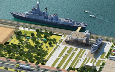 Three Warships Turned into Museum Ships by Han River Park