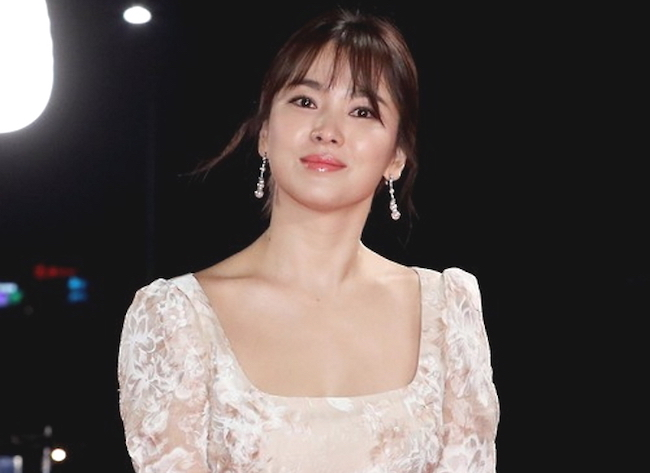 Newlywed Song Hye Kyo Was Proclaimed The Possessor Of Most Beautiful Lips With 262