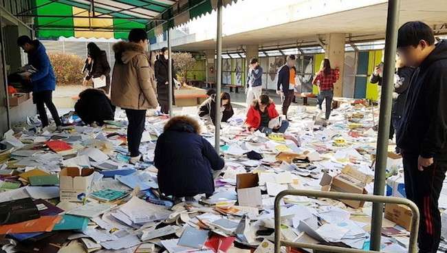 The College Scholastic Ability Test had never before been delayed in its 24-year history, not even during the previous epidemics. (Image: Yonhap)