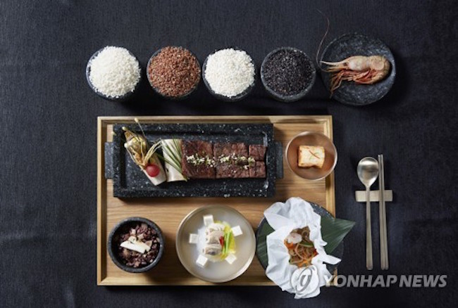 "Interest in ""Dokdo Shrimp"", served at visiting U.S. President Donald Trump's welcome dinner, has risen after Japanese officials criticized the seafood's inclusion on the menu. (Image: Yonhap)"