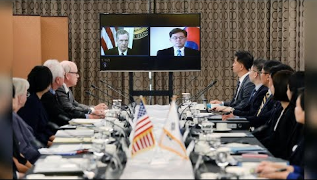 "On the other side, the Secretary of Commerce for South Korea's second largest trade partner had previously said, ""Because the number of vehicles meeting U.S. safety standards that can be exported to South Korea is capped at 25,000, American auto companies are encountering difficulties in entering the South Korean market."" (Image: Yonhap)"