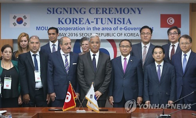Global recognition has in turn attracted fellow countries interested in learning the tricks of the trade, so much so that the South Korean government has signed 55 MOUs with 47 countries and four international organizations. (Image: Yonhap)