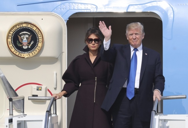 Melania Trump is back in Washington D.C. after accompanying her husband Donald Trump on his trip to Asia, but her charm and soft power that appealed to the South Korean public lingers on. (Image: Yonhap)