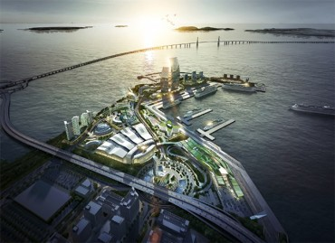 Incheon Port Pitches New Tourist Complex