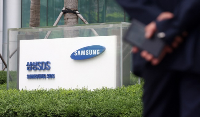 The latest move by Samsung's information technology affiliate will see the company work with Chinese shopping websites to deliver products around the globe. (Image: Yonhap)