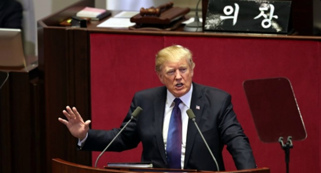 Trump Disappointed Over Cancelled Trip to DMZ