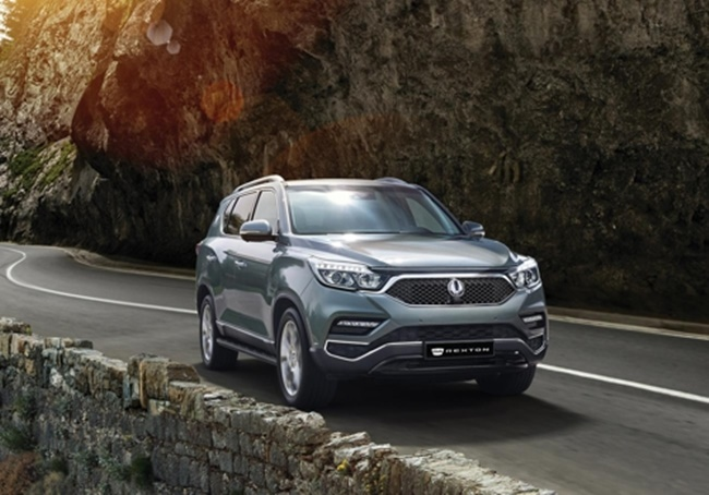 SsangYong Motor Adds Luxury Features to G4 Rexton