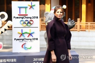 PyeongChang Winter Olympics Chance to Bring World Together: Melania Trump