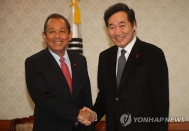 S. Korean PM Stresses Trust Building, Grassroots Exchange with Vietnam