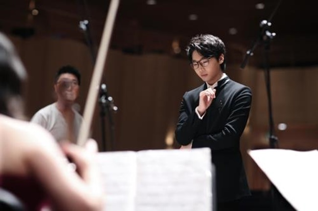 The 22-year-old musician brought home the honor with Nocturne III for clarinet and orchestra at the 72nd competition held in the Swiss city. (Image: Yonhap)