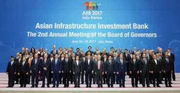 S. Korea's AIIB Membership Opening Doors to Asian Infrastructure Projects