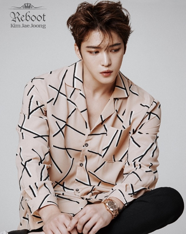 It's the second time Jae-joong's postage stamps have been released, following 2014. (Image: C-JeS Entertainment)