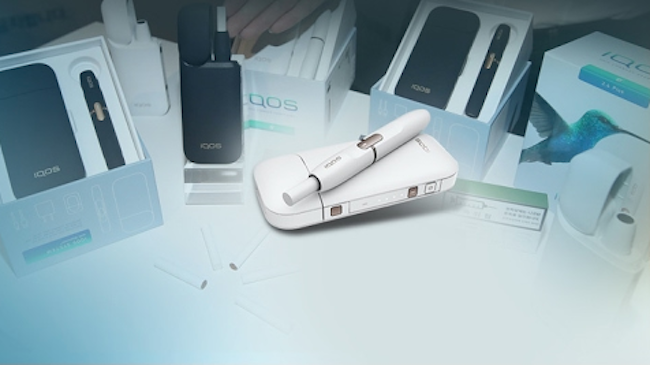 """Compared to traditional cigarettes, the IQOS produces 90 percent less of the 58 chemical substances identified by Philip Morris and the 18 classified by the U.S. FDA, and if one discusses the 15 carcinogens named by the IARC (International Agency for Research on Cancer), the number goes up to 95 percent,"" said Franzon.(Image: Yonhap)"