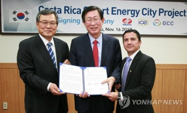 KEPCO to Export Smart Energy City Project to Costa Rica