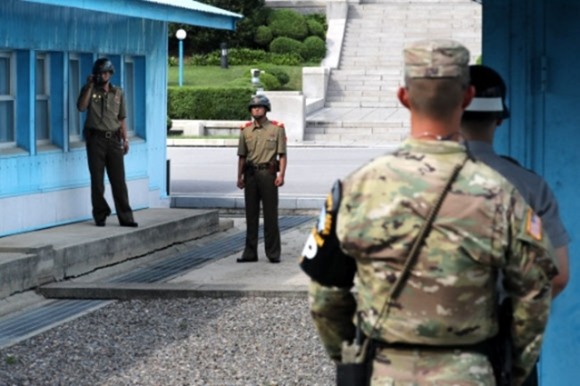 Currently, any use of military force, even in response to North Korean troops firing shots, requires permission from the UNC according to its rules of engagement. (Image: Yonhap)