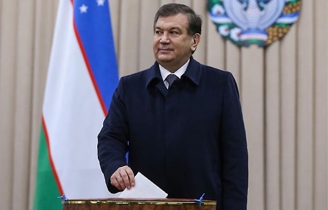 SEOUL, Nov. 17 (Yonhap) -- The president of Uzbekistan will come to South Korea this month on a state visit that will include a bilateral summit with his South Korean counterpart, Seoul's presidential office Cheong Wa Dae said Friday. (Image: Yonhap)