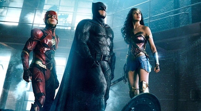 "The Hollywood superhero film ""Justice League"" took the number one spot at the South Korean box office in its first weekend, data showed Monday. (Image: Yonhap)"