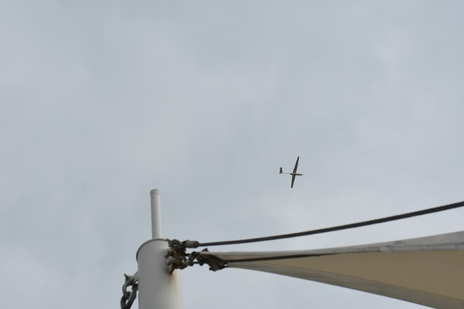 A South Korean research team has developed a hybrid long-flight drone that can stay in the air for up to four and a half hours. (Image:  Korea Institute of Materials Science)
