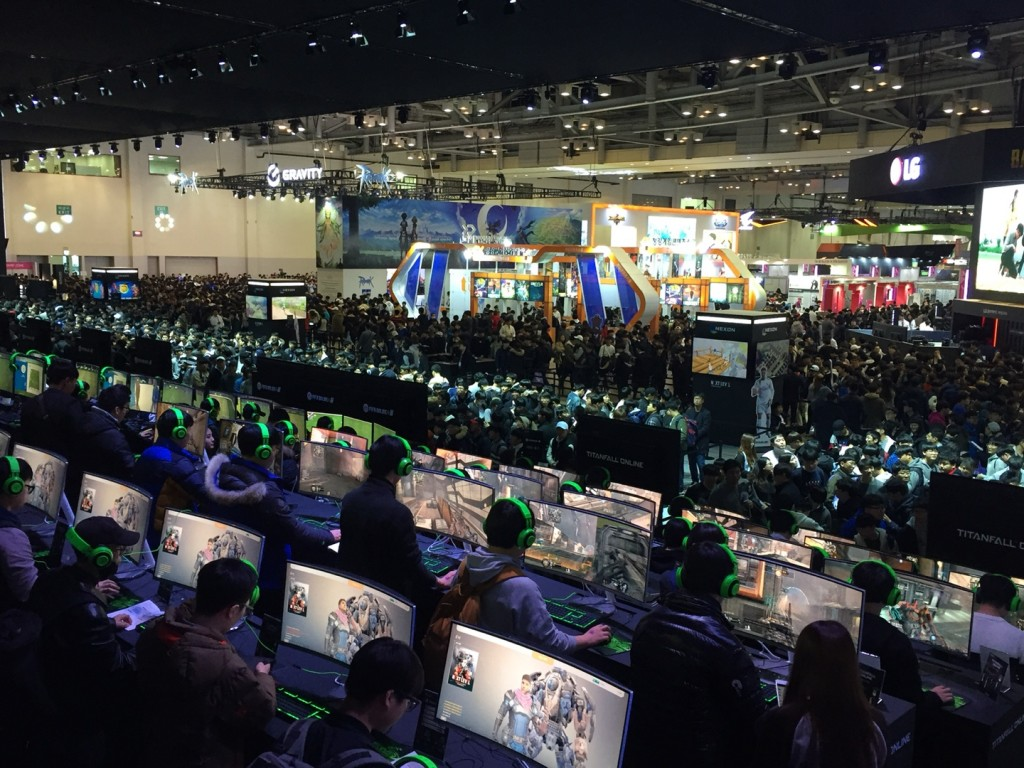 G-Star 2017 wrapped up on Sunday after four days of successful events attended by over 225,000 people, the biggest audience since the game exhibition was launched in 2005 despite worries over the earthquake in Pohang last week. (Image: Nexon)