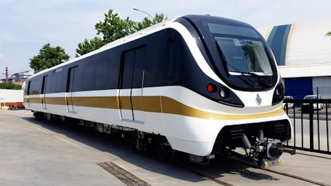 Hyundai Rotem Co., a machinery unit of Hyundai Motor Group, has won an order for subway cars in India worth 177.1 billion won (US$159 million), paving the way for a greater presence in the rapidly growing economy, the company said Tuesday. (Image: Hyundai Rotem)