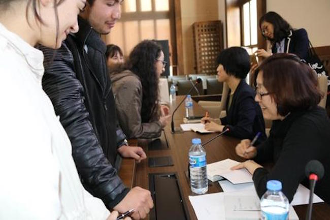 Last fall, the university opened the department, becoming the third school to do so in a country where only about 15 Korean books have been translated into Turkish. (Image: Yonhap)