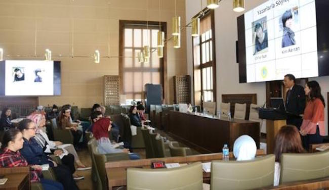 Korean writers have met Turkish students in an event to publicize Korean literature in Turkey, organizers said Wednesday. (Image: Yonhap)