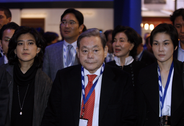 Samsung Group Chairman Lee Kun-hee. (image: Yonhap)