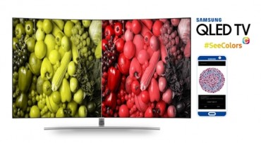 Samsung Launches SeeColors TV App for the Color Blind