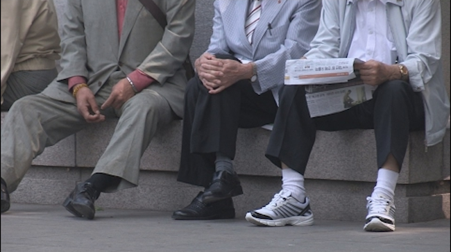 South Korea's state pension said Thursday the monthly cost of living for a citizen aged 50 and above to maintain a minimum lifestyle is estimated at 1.45 million won (US$1,350), which hovers far above the actual pension currently being paid out to recipients. (Image: Yonhap)