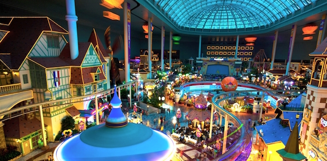 Near Lotte World Tower is amusement park Lotte World, one of the largest indoor theme parks in the world. (Image: Lotte Hotel Website)