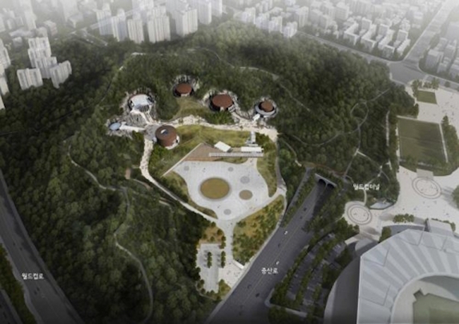 "A close second was Seoul's ""Clean School Bathrooms"" project with 12,779 votes, and Mapo's Oil Tank Culture Park was third with 9,699 selections. (Image: Yonhap)"