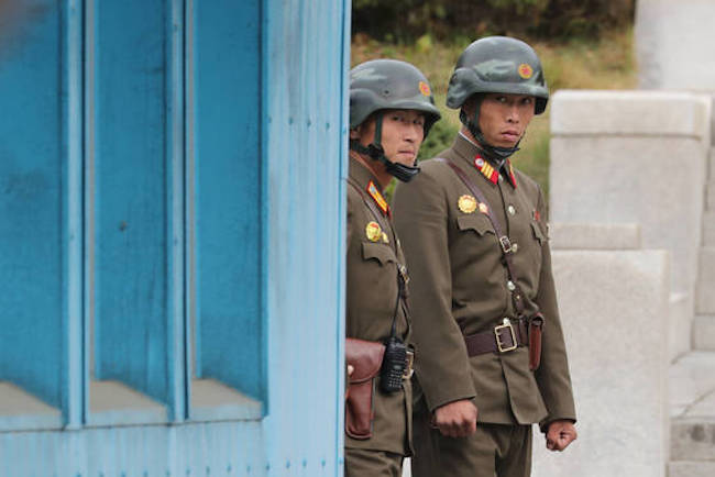Another North Korean soldier defected to the South on December 21, making him the 15th defector this year. (Image: Yonhap)