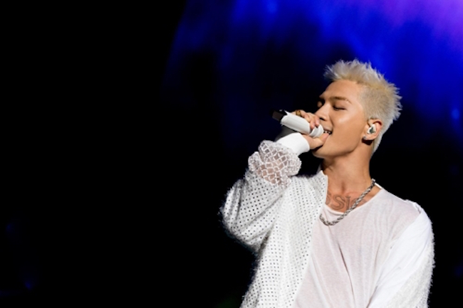Boy band Big Bang's Taeyang and his actress girlfriend Min Hyo-rin will get married in February, the singer's agency said Monday. (Image: Yonhap)