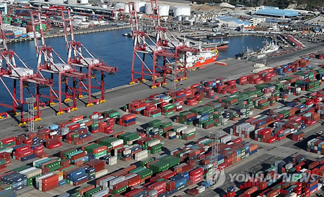 S. Korea Becomes World's Sixth Largest Exporter