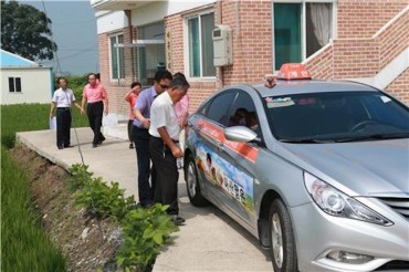 """100 Won Taxi"" Program Brings Inexpensive Transportation to Rural Areas"
