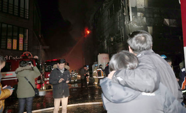 The Jecheon fire claimed 29 lives and left 39 injured. Stories of the victims and survivors have left the public reeling from the disaster. (Image: Yonhap)