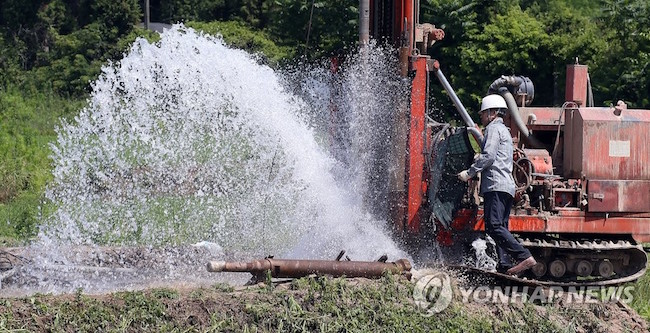 The lowest groundwater levels measured in Jeju since such efforts began in 2003 have caused uneasy voices to call for concerted conservation efforts. (Image: Yonhap)