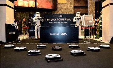Stormtroopers and Vacuum Cleaners: Samsung Unveils Star Wars Products