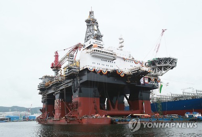 Northern Drilling Ltd (NODL), a global drilling contractor, has said it will exercise its option to purchase a semi-submersible rig being built by Hyundai Heavy Industries Co., a major South Korean shipbuilder, for US$400 million. (Image: Yonhap)