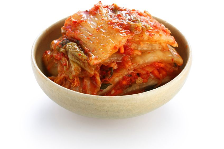 A new study has found fermented foods with lactic acid bacteria such as kimchi can help fight the flu. (Image: Kobiz Media)
